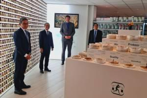 Kepala BKPM Bahlil Lahadalia Kunjungi Produsen Pala Terbesar Dunia Verstegen di Rotterdam