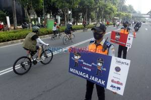 Kasus Covid-19 Jakarta Naik Lagi, Sosialisasi Protokol Kesehatan Terus Digencarkan