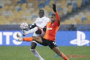 Real Madrid Keok Dua Gol Tanpa Balas di Kandang Shakhtar Donetsk