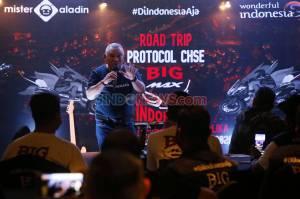 Peserta Mister Aladin Road Trip Protokol CHSE Big Max Indonesia Ikuti Gala Dinner