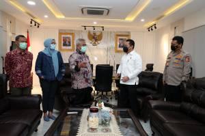 Bahas Pengamanan Pilkada Serentak, Kabareskrim Polri Temui Ketua KPU