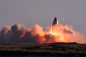 Roket Tak Berawak SpaceX SN8 Meledak Saat Mendarat