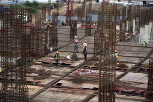 Pembangunan Pasar Senen Jaya Blok I dan II Diperkirakan Rampung April 2021
