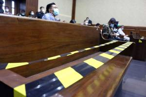 Pengadilan Tipikor Jakarta Terapkan Protokol Kesehatan Secara Ketat