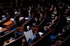 Usai Diserbu Pendukung Trump, Kongres AS Lanjutkan Sidang Penetapan Joe Biden Sebagai Presiden