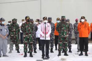 Tim Gabungan Berhasil Identifikasi Titik Jatuhnya Pesawat Sriwijaya Air SJ182