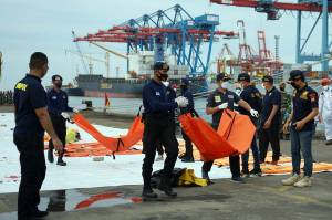Hari Ini Basarnas Temukan Lebih Banyak Lagi Jenazah Korban Sriwijaya Air SJ182