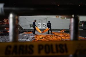 3 Hari Masa Pencarian, Basarnas Evakuasi 74 Kantong Jenazah Korban Sriwijaya Air SJ182
