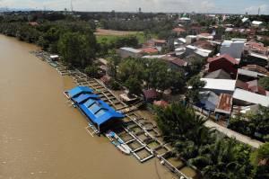 Warga Citra Tello Permai Makassar Sulap Bantaran Sungai Jadi Resto Keren