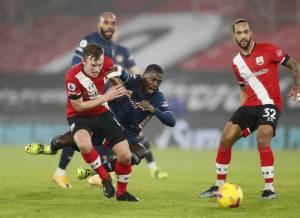 Bertandang ke Markas Southampton, The Gunners Menang 3-1