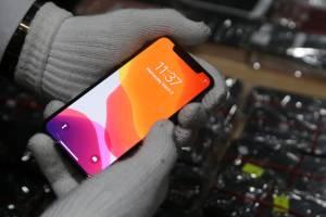 Bea Cukai dan Satgas PAM Lanudal Juanda Sita Ratusan Handphone Ilegal Asal Kawasan Bebas Batam