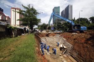 Antisipasi Banjir, Pemprov DKI Kebut Pembangunan Embung