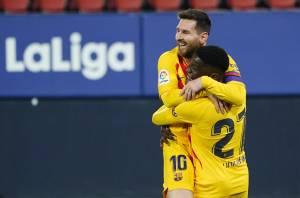 Barcelona Sukses Menang 2-0 di Markas Osasuna