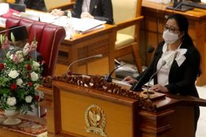 Puan Maharani Pimpin Rapat Paripurna Pembukaan Masa Persidangan IV Tahun Sidang 2020-2021