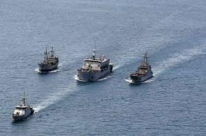 Formasi Sailing Pass Latopsratmin 2021