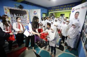 HUT ke-5 Kartini Perindo Sambangi Panti Asuhan Nurul Iman Jafariah