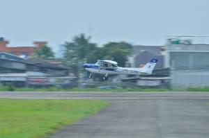 2 Pesawat Cessna IFC Siap Patroli Udara Pantau Jalur Mudik 2021