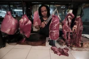 H-5 Lebaran, Harga Daging Sapi Terpantau di Kisaran Rp140 Ribu per Kilogram