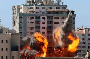 Dirudal Israel, Kantor Berita AS Associated Press Hancur Rata dengan Tanah