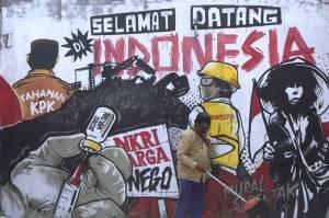 Serikat Mural Suarakan Indonesia Sedang Tidak Baik-Baik Saja