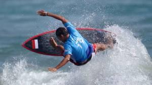 Peselancar Indonesia Rio Waida Melaju ke Babak Kedua Shortboard Olimpiade Tokyo 2020