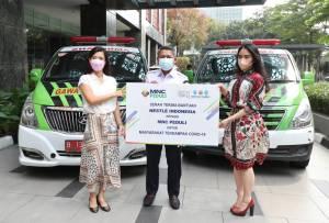 MNC Peduli Salurkan Donasi dari Nestle untuk Tenaga Kesehatan