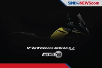 Suzuki Bersiap Lahirkan Motor Petualang 'V-Strom 650 XT ABS'
