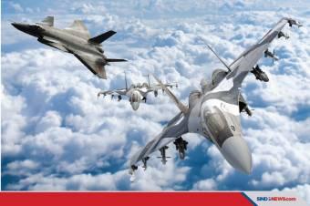 Duet SU-35&J-20 China Siap Saingi Duet F-15&F-35/F-22 Milik AS