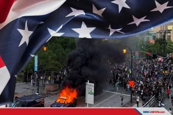 Demo 'Saya Tak Bisa Bernapas' di AS, Ini Titik-titik Lokasinya