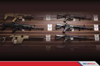 Penjualan Senjata di AS Naik Tajam di Tengah Demo George Floyd