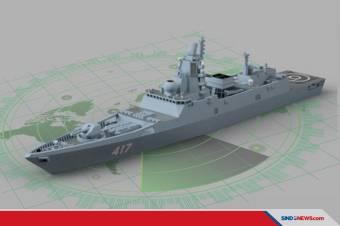 Kapal Perang Siluman Rusia Admiral Kasatonov Rampungkan Uji Laut