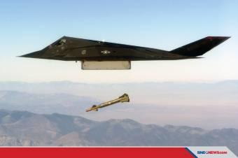 F-117 Nighthawk Pesawat Bomber yang Mampu Meladeni Dogfight