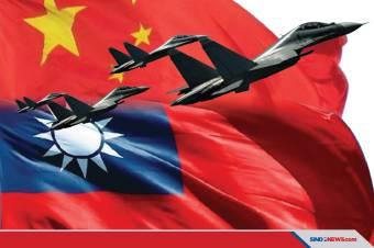 Jet Tempur Su-30 China Serbu Langit Taiwan Usai Pesawat AS Lewat
