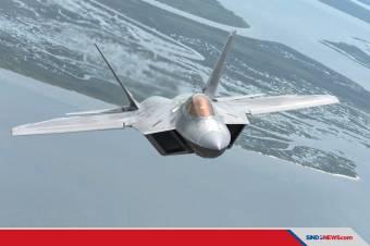 Jet Siluman F-22 Amerika Cegat 4 Pembom Berkemampuan Nuklir Rusia