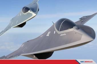 Amerika Siapkan Jet Tempur Gen-6 Akan Jadi Pesaing Tempest Eropa?