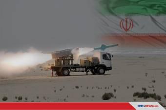 Iran Tembakkan Rudal Jelajah Buatan Sendiri dalam Latihan Perang