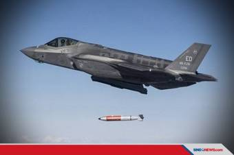 Jet Tempur Siluman F-35 AS Diuji Jatuhkan Bom Nuklir B61-12 Inert