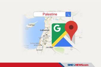 Jejak Hilangnya Palestina dari Google Maps dan Apple Maps