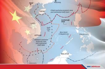 Media China Sentil Indonesia, Tolak Klaim China di Laut China Selatan