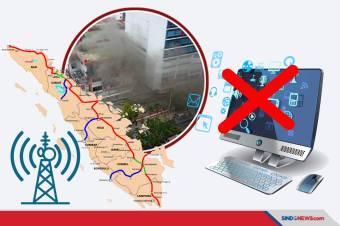 STO Sempat Terbakar, Jaringan di Sumatera Sudah 100% Normal
