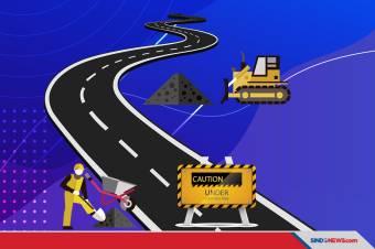Pakai Produk Lokal, Hutama Karya Bangun Jalan Tol Terpanjang di Indonesia