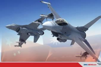Diakui China, F-16 VIPER Taiwan Membuat Gentar PLA China