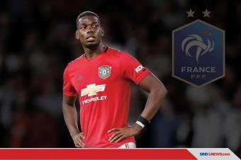 Paul Pogba Positif COVID-19, Dicoret dari Skuat Prancis