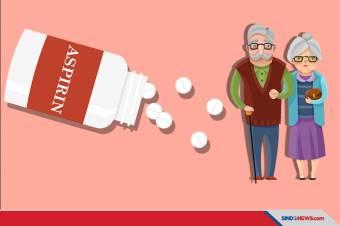 Ini Bahaya Aspirin bagi Lansia