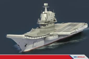 Melihat Shandong Tipe 001A, Kapal Induk Pertama China Latihan Perang