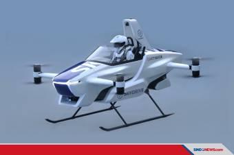 Skydrive, Mobil Terbang Pertama di Dunia Sukses Uji Terbang