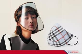 Face Shield Mewah ala Louis Vuitton
