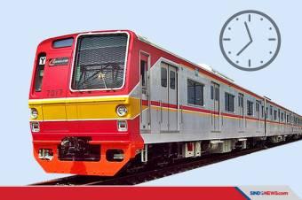 Jam Operasional KRL, MRT, LRT dan Transjakarta Selama PSBB Ketat