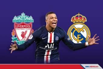 Transfer Kylian Mbappe, Antara Real Madrid dan Liverpool