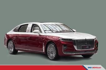 Kemewahan Sedan Super Mirip Rolls-Royce Buatan China